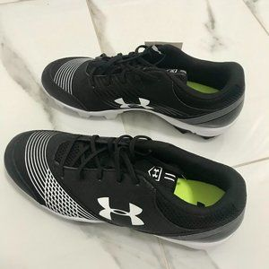 Under Armor - Black & White Soccer Cleats